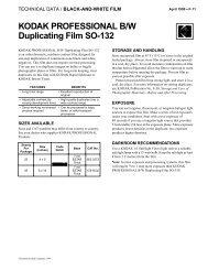 KODAK PROFESSIONAL B/W Duplicating Film SO-132 - 125px