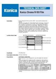 Konica Chrome R-100 Film - 125px
