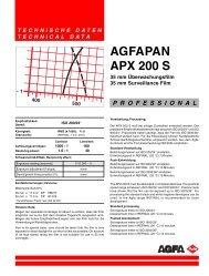 AGFAPAN APX 200 S - 125px
