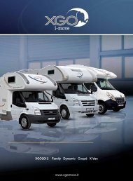 www.xgomove.it XGO2012 Family Dynamic Coupé X-Van