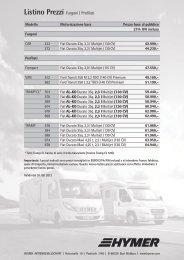 Listino Prezzi Furgoni | Profilati