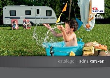 catalogo adria caravan