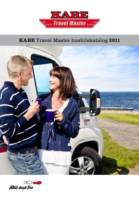 KABE Travel Master husbilskatalog 2011