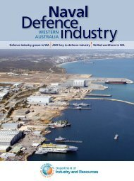 western australia - Centre for Marine Science and Technology ...