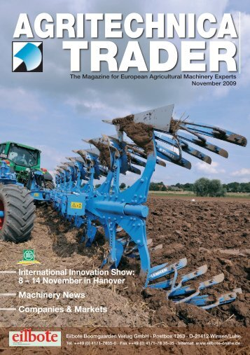 Titel-Trader 2.2009.indd - Agritechnica Trader