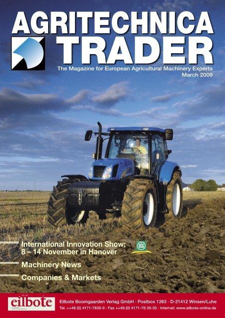 03.Seite Trader1.2009.indd Agritechnica Trader