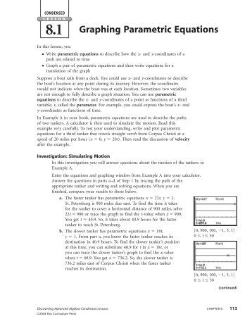 Printables Parametric Equations Worksheet parametric equations worksheet davezan