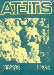 Ateitis – 1982 m. Nr. 1&2