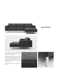 Neo Sectional Product Sheet (PDF) - Bensen