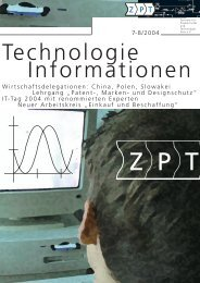 Technologie Informationen - ZPT