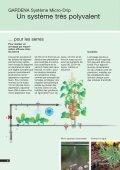 GARDENA Systeme Micro-Drip - Page 6