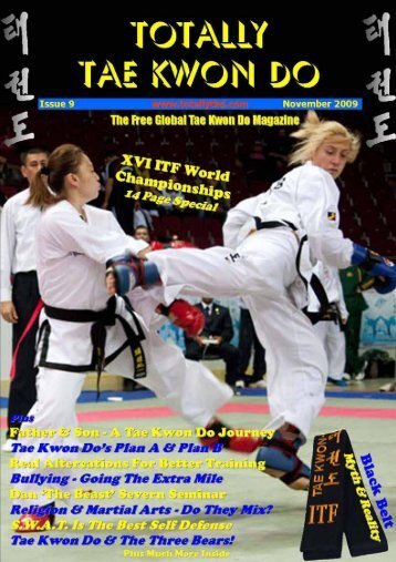 Totally Tae Kwon Do Magazine - Issue 9 - USADojo.com
