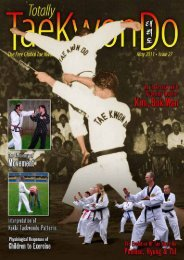 Totally Tae Kwon Do Magazine - Issue 27