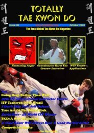 Totally Tae Kwon Do Magazine - Issue 20 - Usadojo