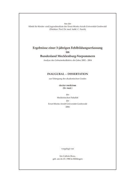 1041 KB - Ernst-Moritz-Arndt-Universität Greifswald