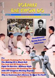 Totally Tae Kwon Do Magazine - Issue 11 - Usadojo