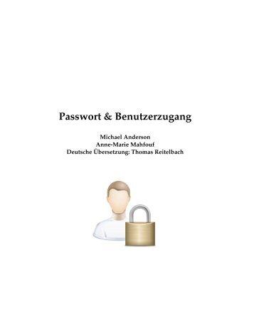 Passwort & Benutzerzugang
