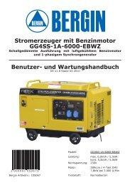 Benutzer- und Wartungshandbuch Stromerzeuger mit ... - Rotek