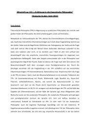 """Mitschrift zur VO-L """"Einführung in die theoretische Philosophie ..."""