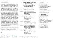 1. Kölner Kardio-Diabetes Symposium - St. Antonius Krankenhaus ...