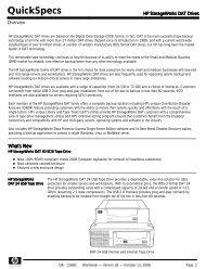 HP StorageWorks DAT Drives