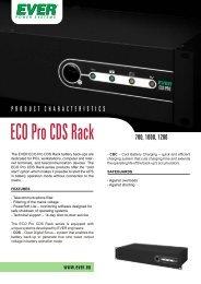 ECO Pro CDS Rack