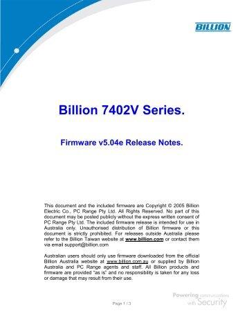 BILLION 3011G WINDOWS 7 DRIVER