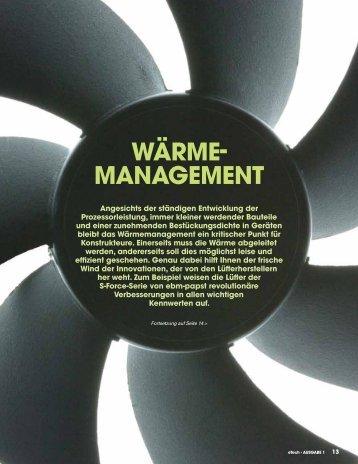 WÄRME- MANAGEMENT - RS Components