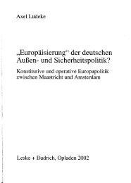 """""""Europäisierung"""