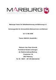 Marburger Verein für Selbstbestimmung und Betreuung eV