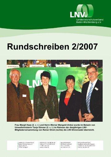 Rundschreiben 2/2007 - LNV-AK Göppingen