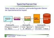 Speicherhierarchie - next-internet.com