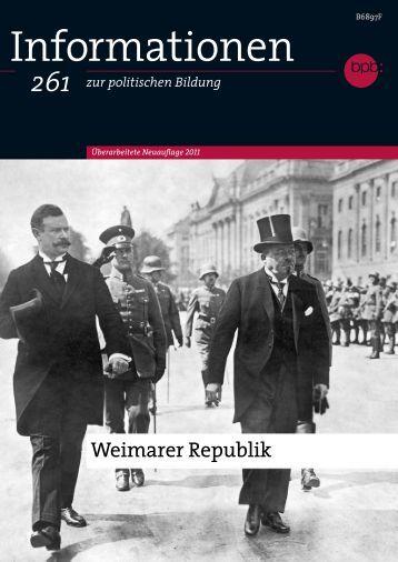 Heft als PDF-Datei herunterladen - Bundeszentrale für politische ...