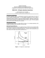 Lab handout - Department of Mechanical and Materials Engineering ...