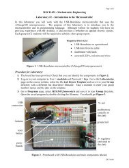 Introduction to the Microcontroller