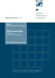 Altersvorsorge - Analyse & Konzepte