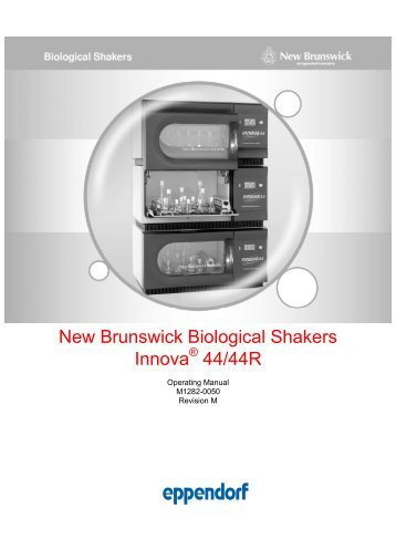 New Brunswick Biological Shakers Innova 44/44R - Wolf Laboratories