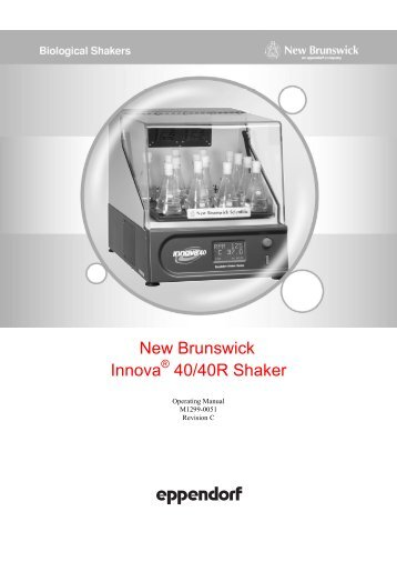 New Brunswick Innova 40/40R Shaker - Wolf Laboratories