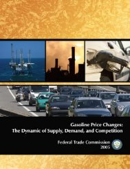 Gasoline Price Changes - Federal Trade Commission