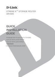 QUICK INSTALLATION GUIDE - D-Linkla