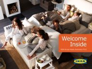 Welcome inside (pdf) - Ikea