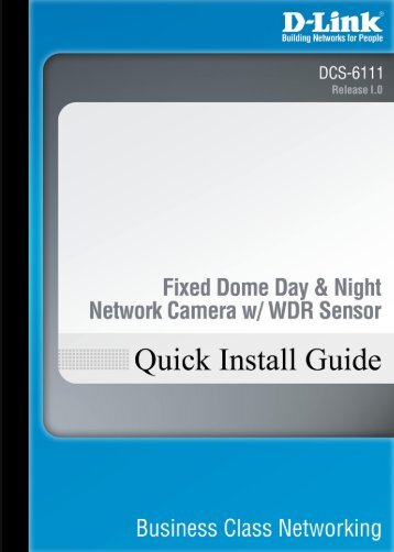 Quick Install Guide