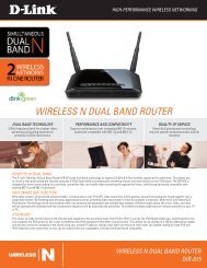 WIRELESS N DUAL BAND ROUTER