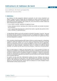 Indicateurs et tableaux de bord (pdf) - Claude Rochet