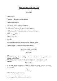plan Langevin-Wallon - Claude Rochet