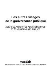 Les autres visages de la gouvernance publique - Claude Rochet