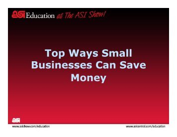 Top Ways Small Businesses Can Save Money
