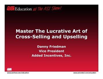 Master The Lucrative Art of Cross-Selling and Upselling