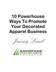 10 Powerhouse Ways To Promote Your Decorated Apparel Business