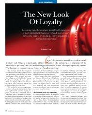The New Look Of Loyalty